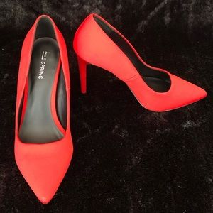 Call It Spring Red Heels
